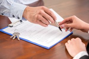 Signing Real Estate Contract